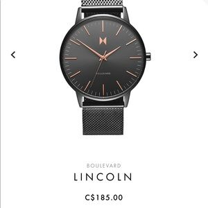 💥HOST PICK💥 MVMT Lincoln women's watch gunmetal